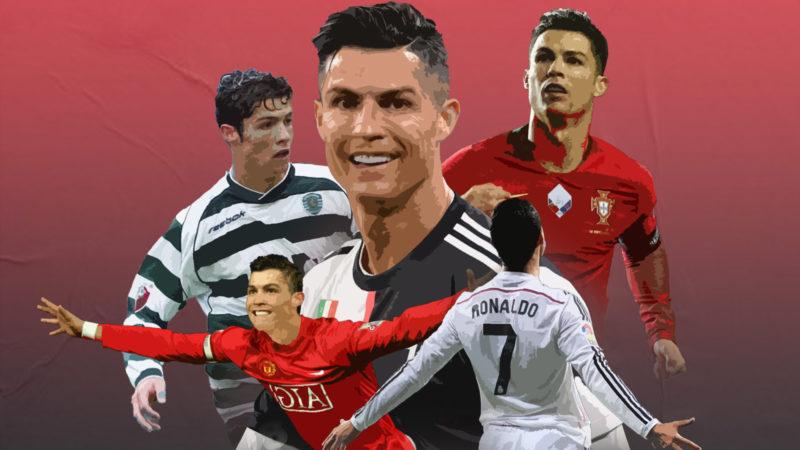 Cristiano Ronaldo / Ilustración Matías Cachiquis