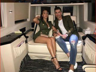 Cristiano Ronaldo y Georgina Rodríguez. Foto: Instagram.