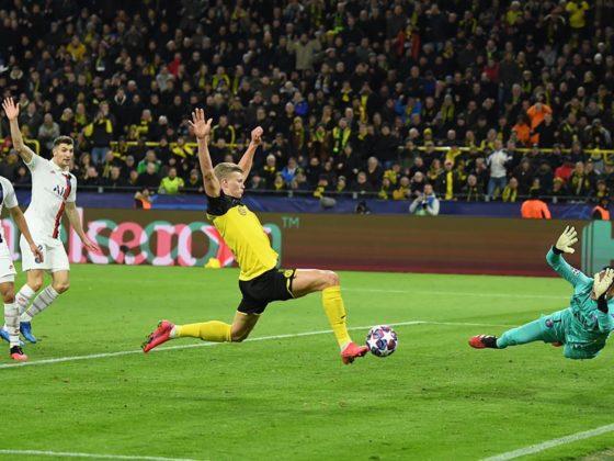 Foto: Erling Haaland, del Borussia Dortmund / Twitter Oficial