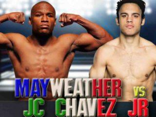 Julio César Chávez Jr vs Mayweather