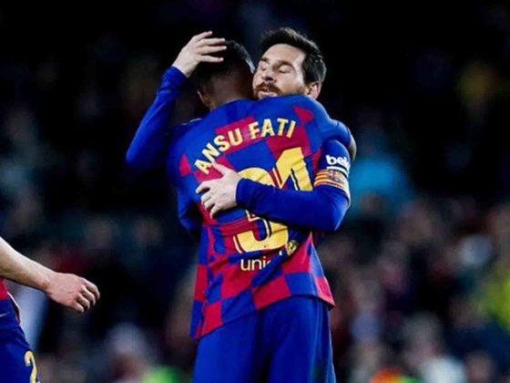 Messi y Ansu