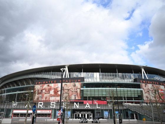 Una vista del Emirates Stadium del Arsenal Football Club en Londres. FOTO: EFE