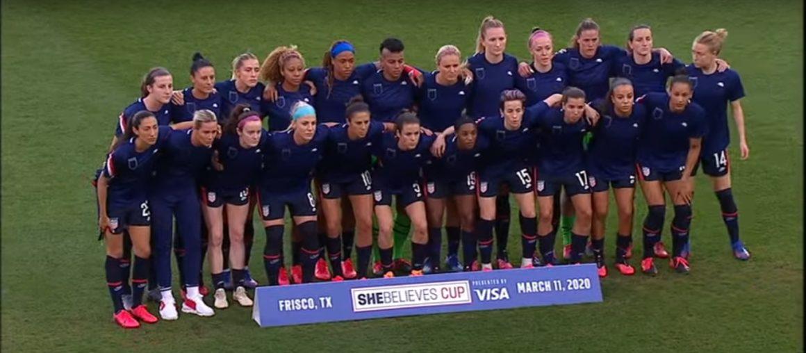 Equipo femenino de fútbol de EE.UU. Foto. Youtube.