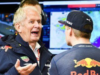 Helmut Marko, asesor de Red Bull. Foto: Twitter.