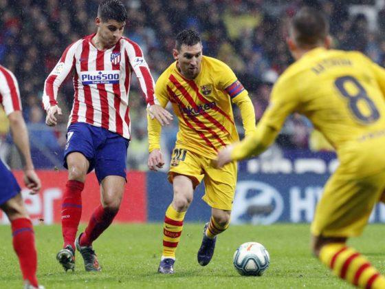 Foto: Leo Messi, del Barcelona vs Atletico de Madrid / EFE