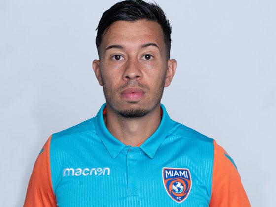 Sebastián Velásquez, del Miami FC
