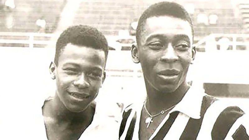 Zoca, hermano menor de Pelé / Twitter Oficial Santos