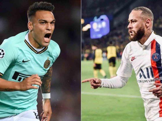 Lautaro y Neymar