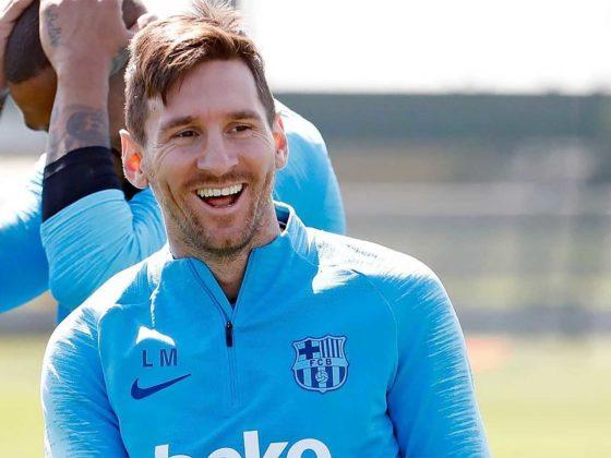 Foto: Lionel Messi, del Barcelona / Facebook Oficial