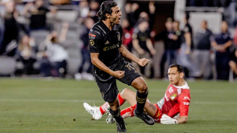 Foto: Carlos Vela, del LAFC / Facebook Oficial