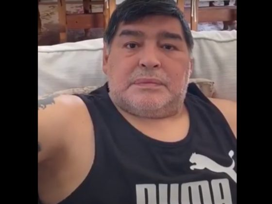 Diego Maradona. Foto: Youtube.