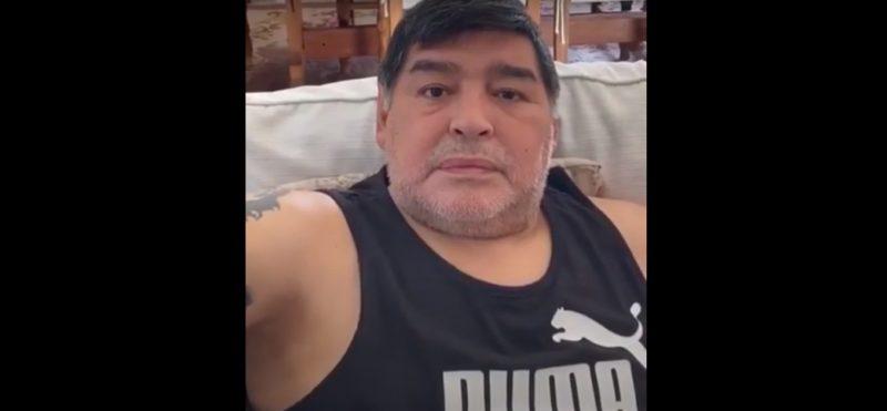 Diego Maradona. Foto: Youtube.