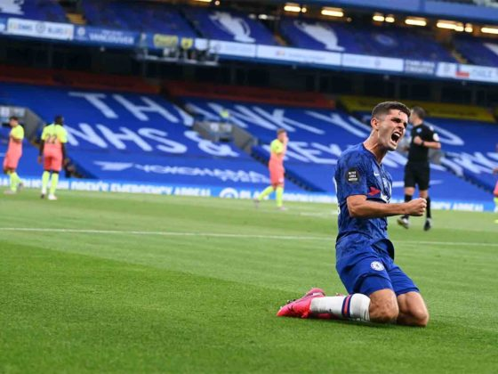 Foto: Christian Pulisic, del Chelsea / Twitter Oficial