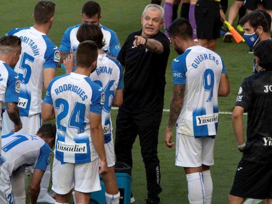 Foto: Javier Aguirre, DT del Leganés / EFE
