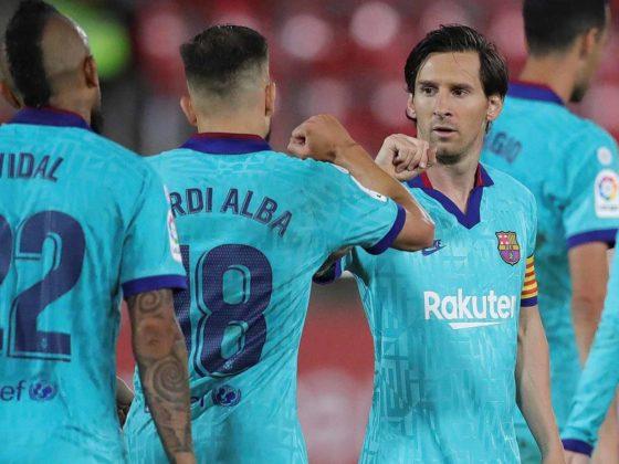 Lionel Messi, del Barcelona / EFE