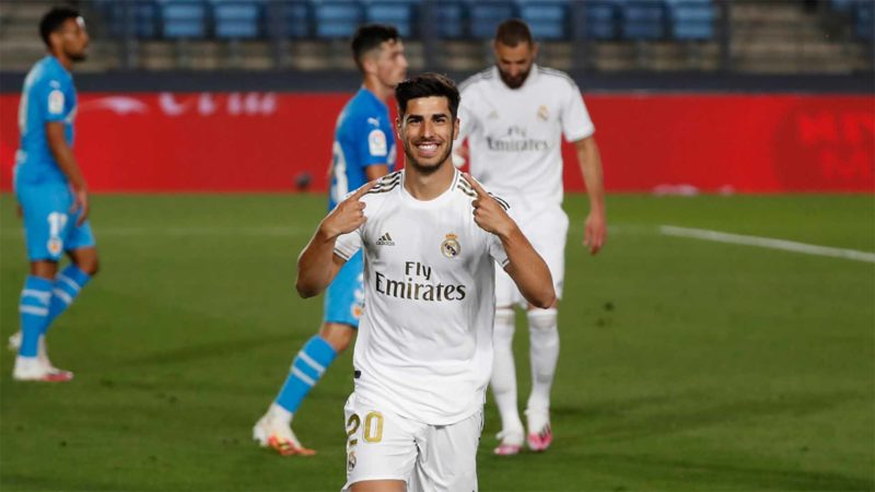 Foto: Marco Asensio, del Real Madrid / Twitter Oficial