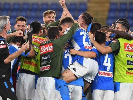 Foto: Napoli campeón de a Coppa Italia / Twitter Oficial