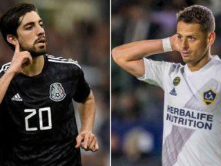 Rodolfo Pizarro y Javier Hernández