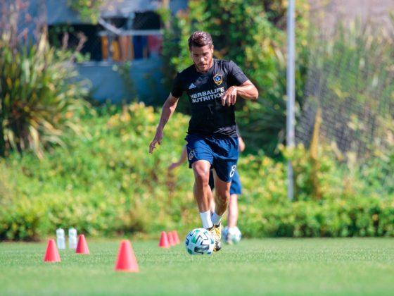 Jonathan dos Santos del LA Galaxy.