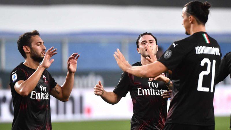 Foto: AC Milan en festejo / EFE
