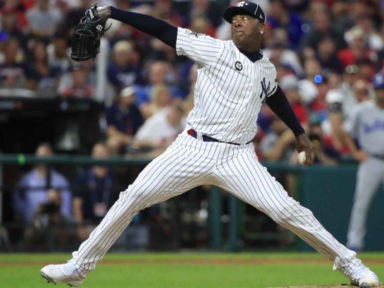 Foto: Aroldis Chapman, de Yankees / EFE