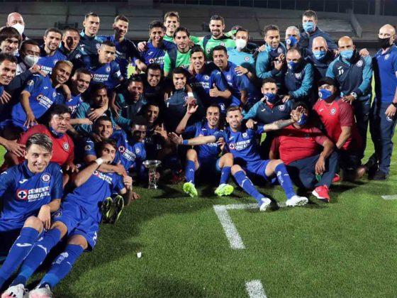 Foto: Cruz Azul, campeón Copa por Mexico / Facebook Oficial