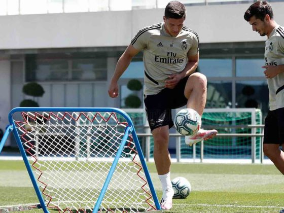 Foto: Luka Jovic, del Real Madrid / Twitter Oficial