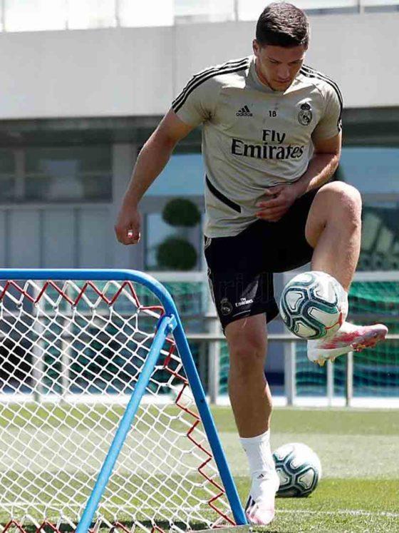Foto: Luka Jovic, del Real Madrid / Twitter Oficial