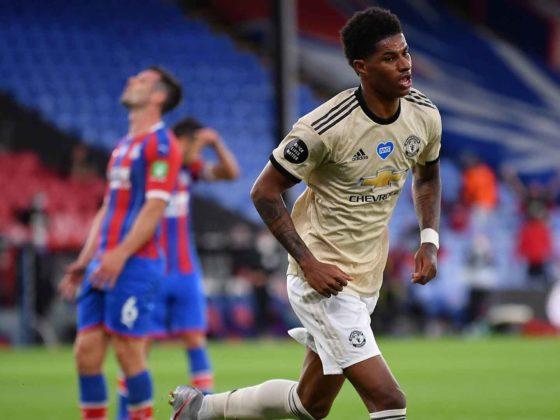 Foto: Marcus Rashford, del Manchester United / EFE